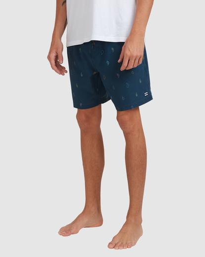 8 Sundays Layback Boardshorts Blue 9513425 Billabong