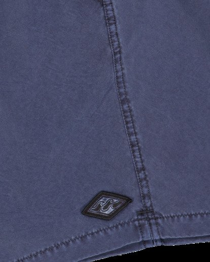 6 All Day Overdye Layback Boardshorts Blue 9513452 Billabong
