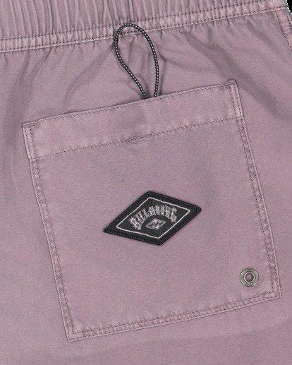 5 All Day Overdye Layback Boardshorts Purple 9513452 Billabong