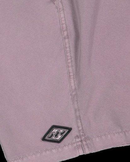 6 All Day Overdye Layback Boardshorts Purple 9513452 Billabong