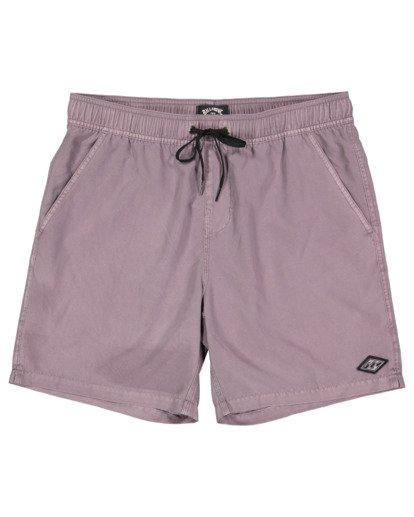 0 All Day Overdye Layback Boardshorts Purple 9513452 Billabong
