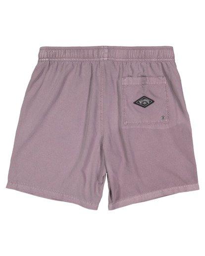 1 All Day Overdye Layback Boardshorts Purple 9513452 Billabong