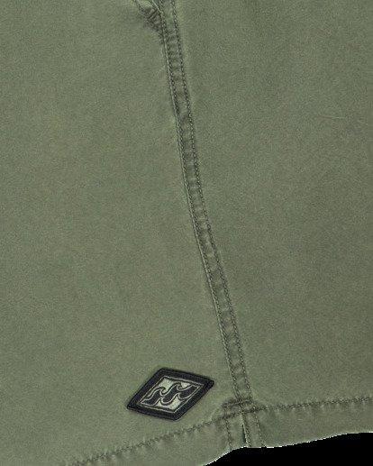6 All Day Overdye Layback Boardshorts Green 9513452 Billabong
