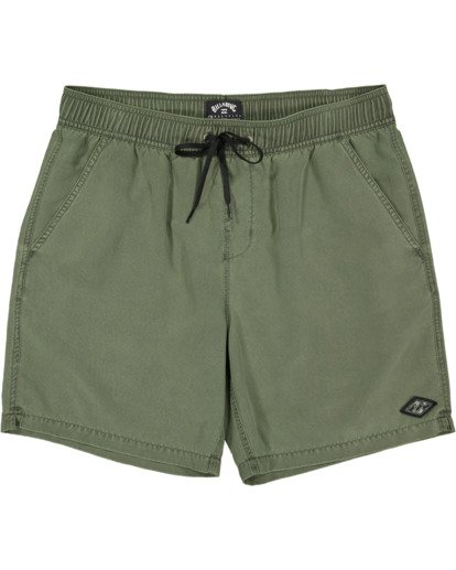 0 All Day Overdye Layback Boardshorts Green 9513452 Billabong