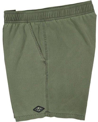 3 All Day Overdye Layback Boardshorts Green 9513452 Billabong