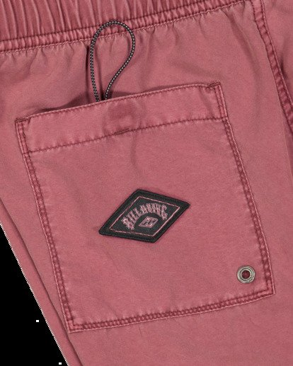 5 All Day Overdye Layback Boardshorts Pink 9513452 Billabong