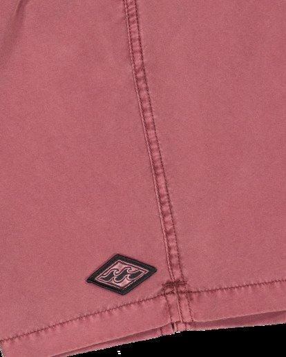 6 All Day Overdye Layback Boardshorts Pink 9513452 Billabong