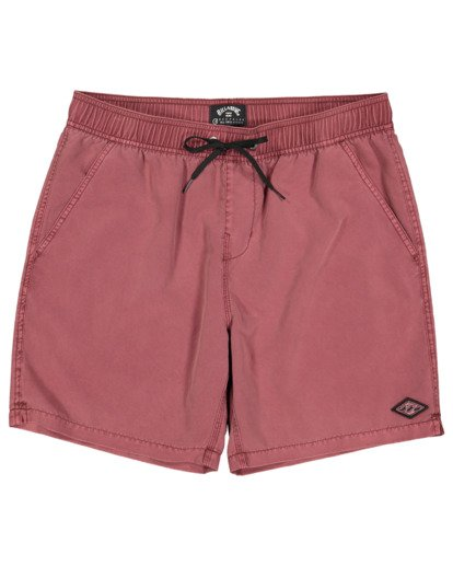 0 All Day Overdye Layback Boardshorts Pink 9513452 Billabong