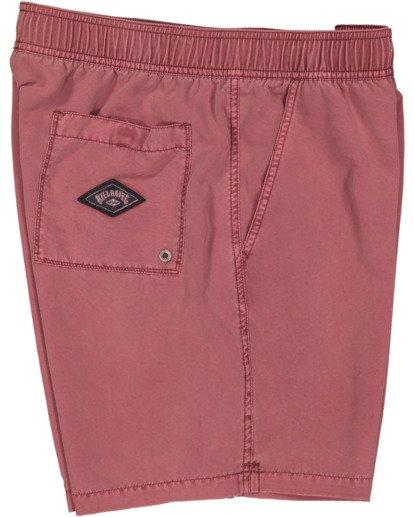 2 All Day Overdye Layback Boardshorts Pink 9513452 Billabong