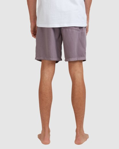 9 All Day Overdye Layback Boardshorts Purple 9513452 Billabong