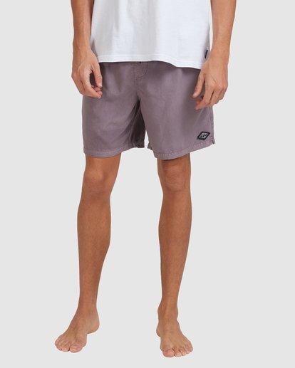 7 All Day Overdye Layback Boardshorts Purple 9513452 Billabong