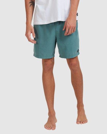 7 All Day Overdye Layback Boardshorts Blue 9513452 Billabong