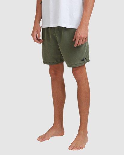 8 All Day Overdye Layback Boardshorts Green 9513452 Billabong