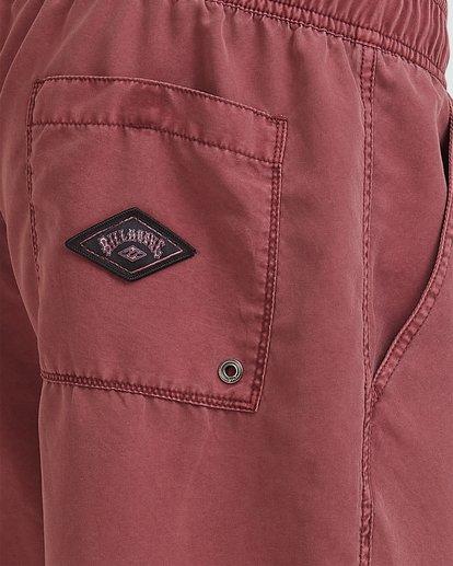 10 All Day Overdye Layback Boardshorts Pink 9513452 Billabong