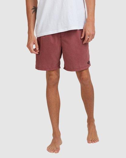 7 All Day Overdye Layback Boardshorts Pink 9513452 Billabong