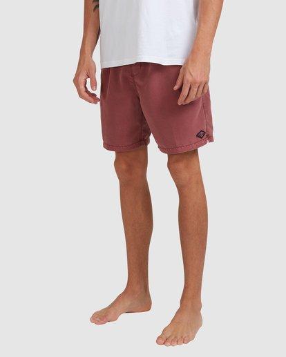 8 All Day Overdye Layback Boardshorts Pink 9513452 Billabong