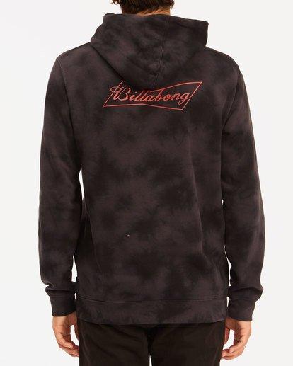 2 Budweiser Bow Pullover Hoodie Black 9513600 Billabong