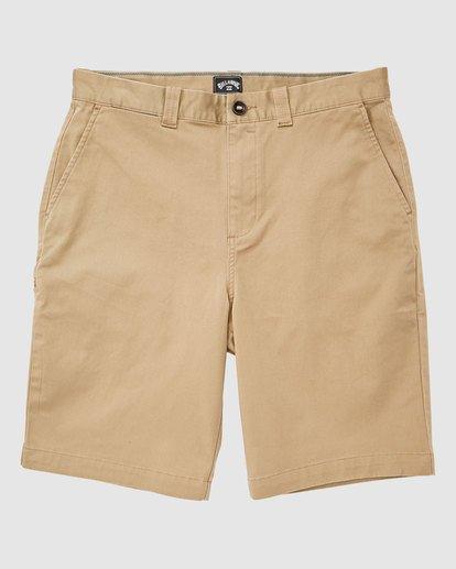 0 Carter Stretch Shorts Green 9513701 Billabong
