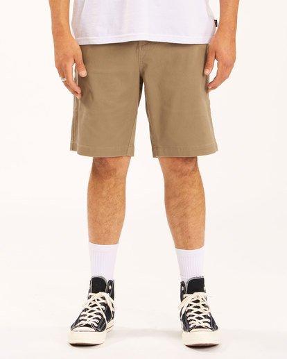2 Carter Stretch Shorts Green 9513701 Billabong
