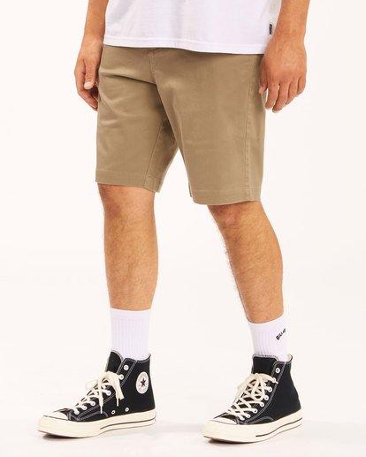 3 Carter Stretch Shorts Green 9513701 Billabong