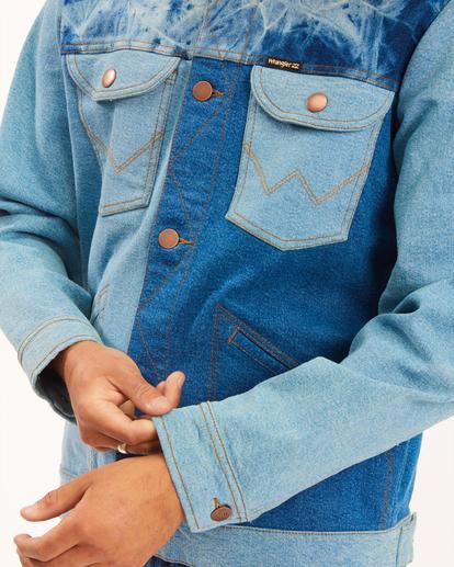 3 Wrangler Team Ranch Mixup Jacket Blue 9513902 Billabong
