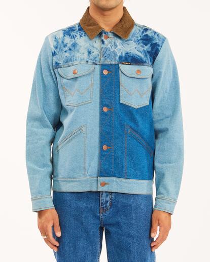 0 Wrangler Team Ranch Mixup Jacket Blue 9513902 Billabong