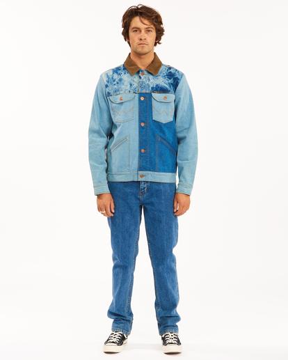 4 Wrangler Team Ranch Mixup Jacket Blue 9513902 Billabong