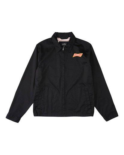5 Budweiser Bow Station Jacket Black 9513912 Billabong