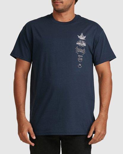 0 RAMEN TEE Blue 9517002 Billabong