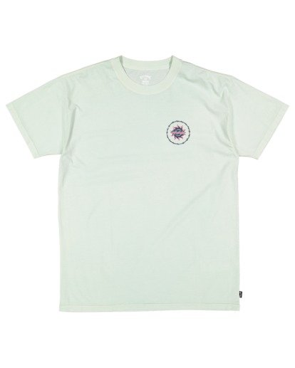4 Holey Moley Short Sleeve Tee Green 9517003 Billabong