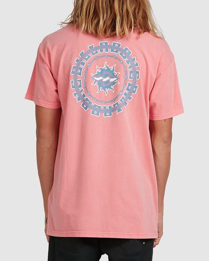 2 Holey Moley Short Sleeve Tee Pink 9517003 Billabong