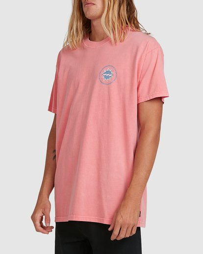 1 Holey Moley Short Sleeve Tee Pink 9517003 Billabong