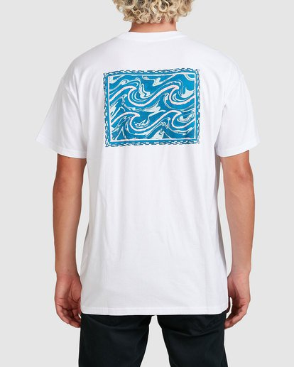 2 Crayon Wave Tee White 9517005 Billabong