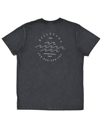5 Big Wave Dave T-Shirt Black 9517012 Billabong