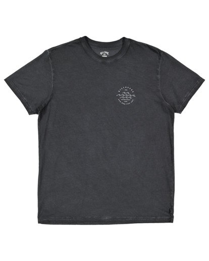 4 Big Wave Dave T-Shirt Black 9517012 Billabong