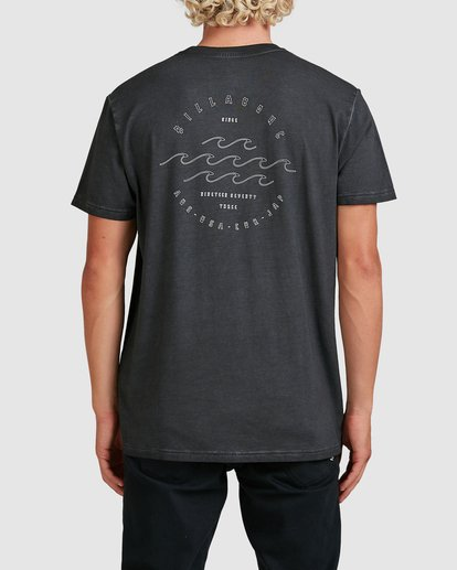 2 Big Wave Dave T-Shirt Black 9517012 Billabong