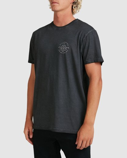 1 Big Wave Dave T-Shirt Black 9517012 Billabong