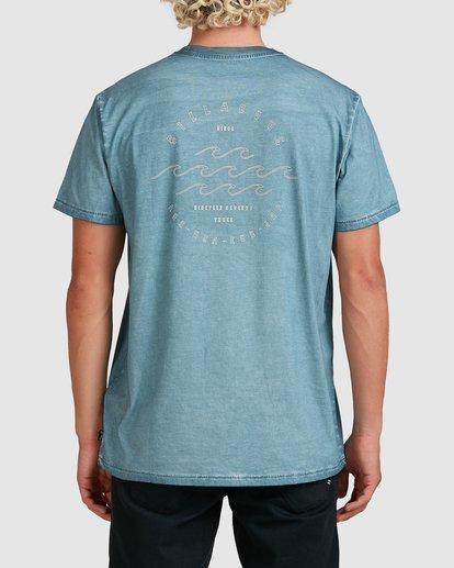 2 Big Wave Dave T-Shirt Blue 9517012 Billabong