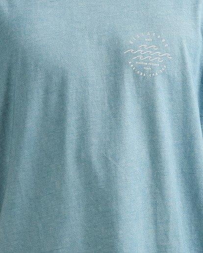 3 Big Wave Dave T-Shirt Blue 9517012 Billabong