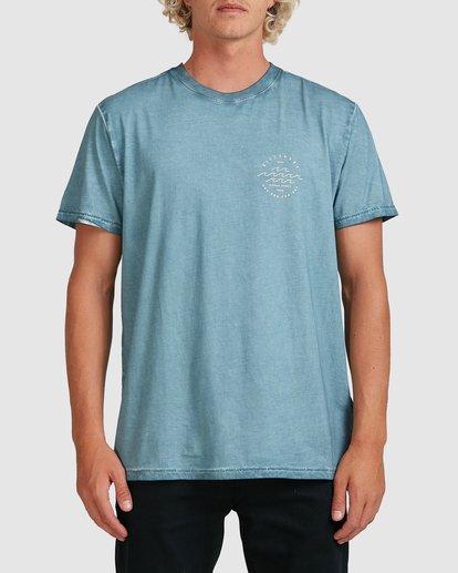 0 Big Wave Dave T-Shirt Blue 9517012 Billabong