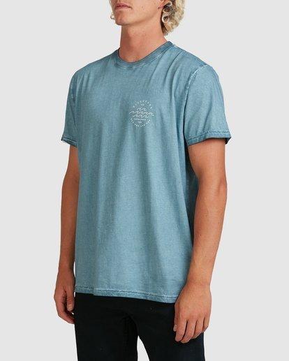 1 Big Wave Dave T-Shirt Blue 9517012 Billabong