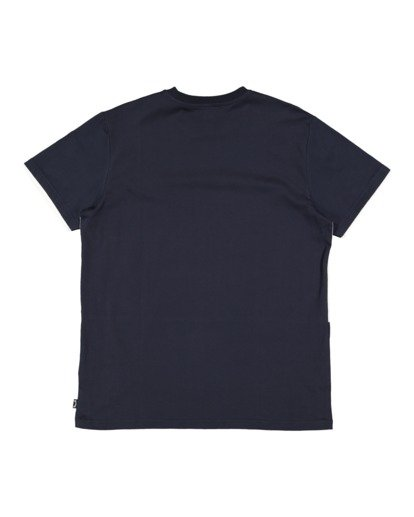 5 The Banded Panel Short Sleeve Tee Blue 9517016 Billabong