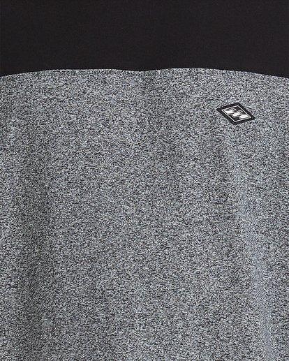 3 The Banded Panel Short Sleeve Tee Grey 9517016 Billabong