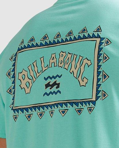 3 Adventure Division Arch Wave Short Sleeve Tee Blue 9517018 Billabong