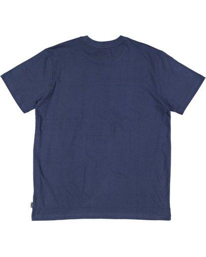 5 Banded Diecut Short Sleeve Tee Blue 9517019 Billabong