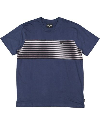 4 Banded Diecut Short Sleeve Tee Blue 9517019 Billabong