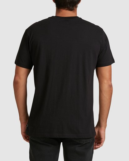 2 Banded Diecut Short Sleeve Tee Black 9517019 Billabong