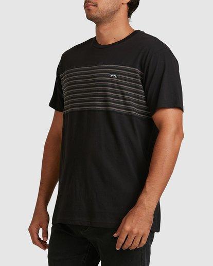 1 Banded Diecut Short Sleeve Tee Black 9517019 Billabong