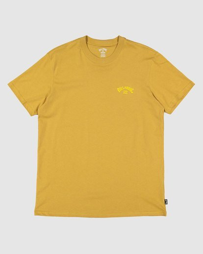 0 Puff Arch T-Shirt Yellow 9517020 Billabong