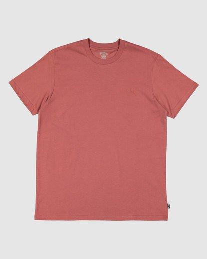 0 Puff Arch T-Shirt Red 9517020 Billabong